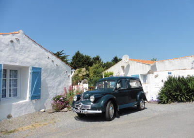 oude auto's in Frankrijk