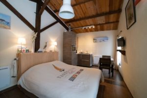 large room with kitchenette in the Vendee