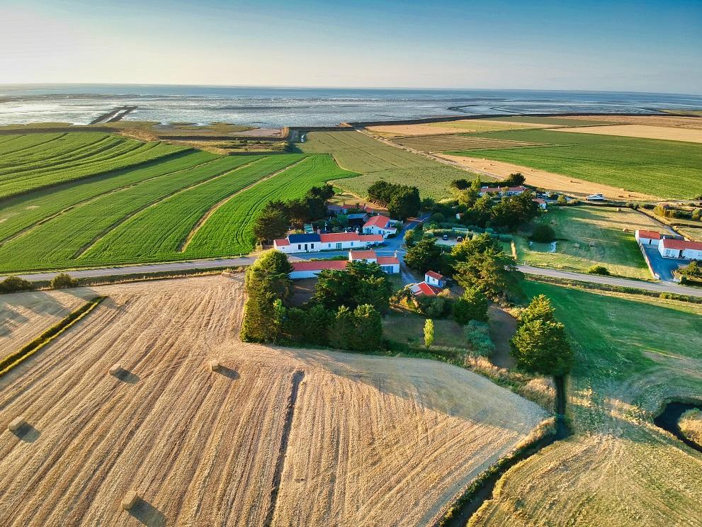 Vakantiehuisjes aan de kust in Frankrijk