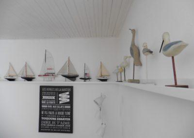 nautische kunst in vakantiehuis in Frankrijk