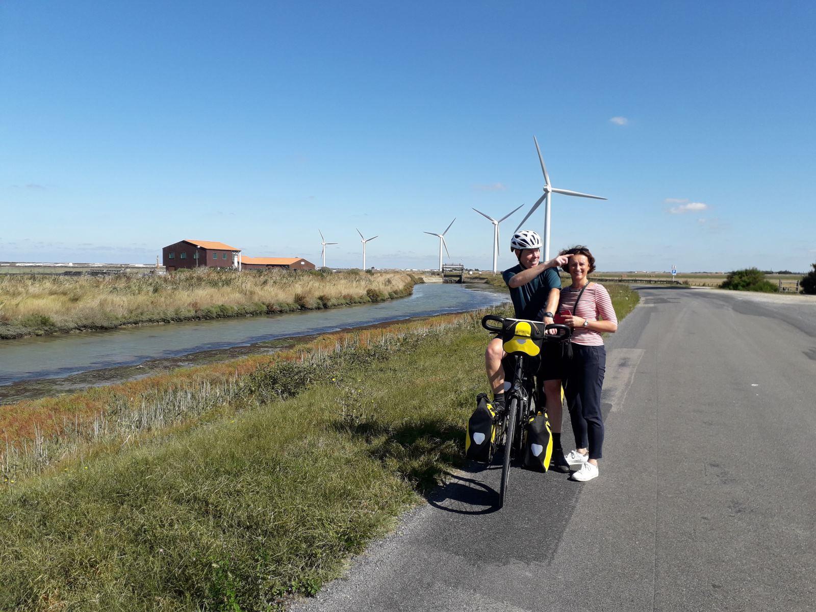 Op de fiets naar Frankrijk