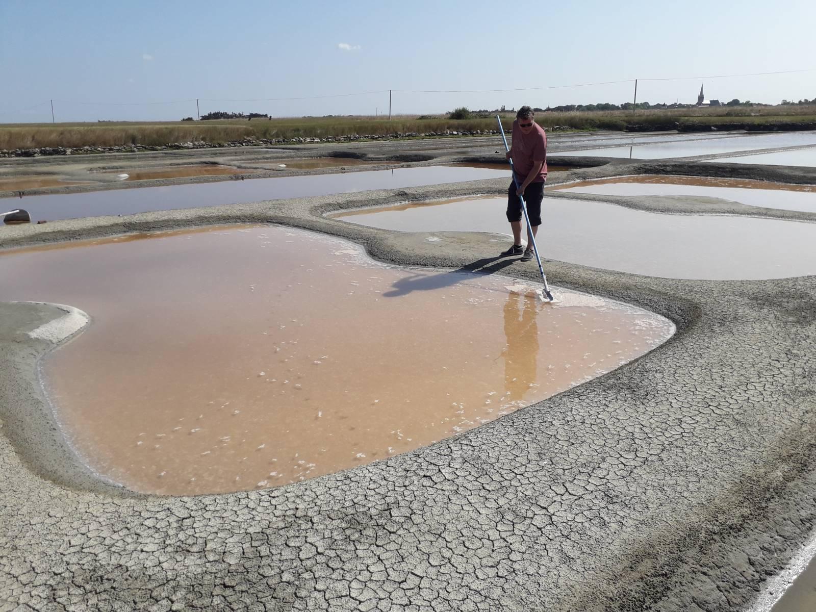 zoutwinning in Frankrijk