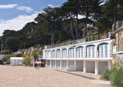 jaren 30 strand in Frankrijk