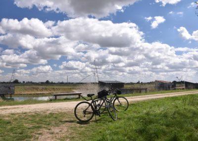 rustig fietsen in Frankrijk aan de kust