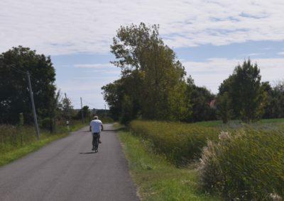 rustige fietspaden in Frankrijk